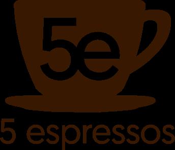 5 espressos