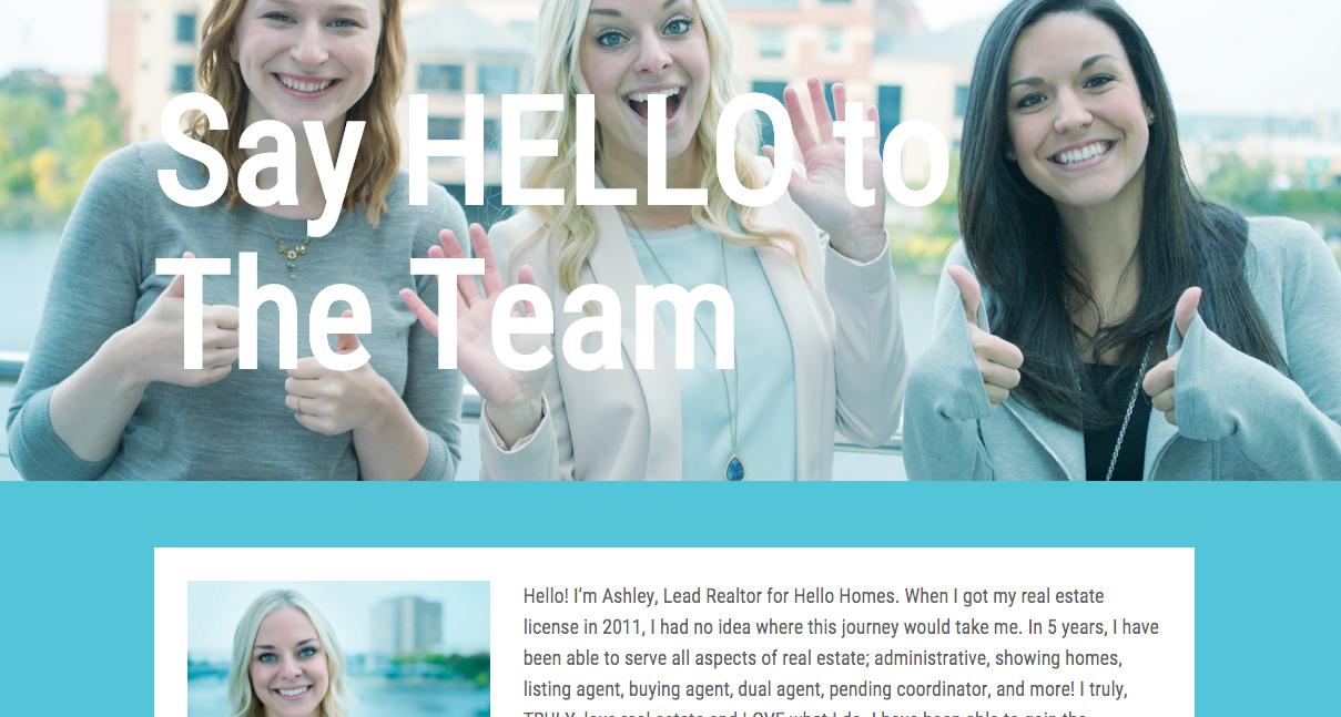 Hello Homes GR Website Team